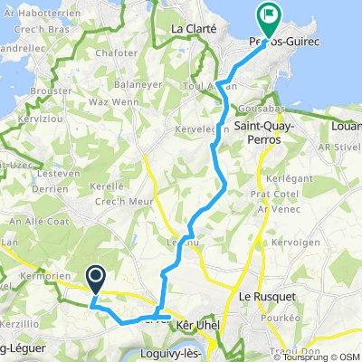 Itinéraire modéré en Perros-Guirec