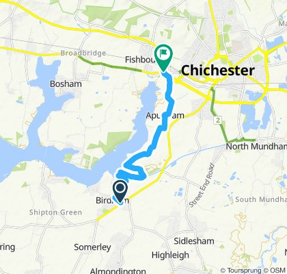 Moderate route in Chichester