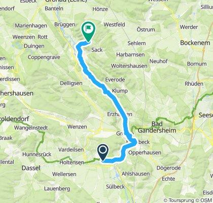 Einbeck-Leine-Heide-Radweg-Grillplatz
