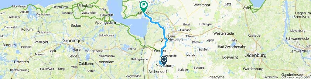 Papenburg-Emden 48km