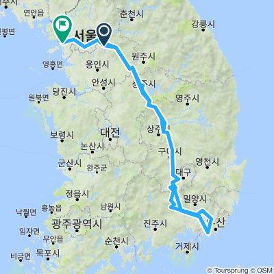 4 Rivers Trail Seoul to Busan