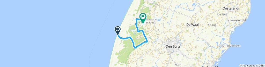 Route im Schneckentempo in De Koog
