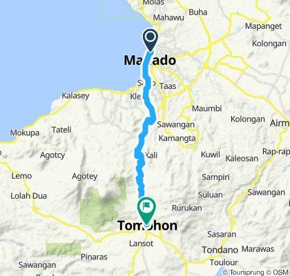 Sulawesi, Indonesia, 01, Manado - Tomohon, 25 km