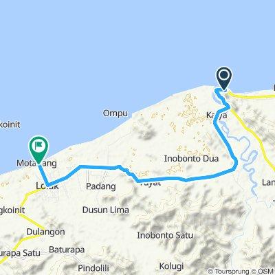 Sulawesi, Indonesia, 03, Inobontu - Lolak, 20 km