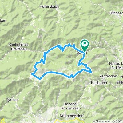 Einfache Fahrt in Fladnitz an der Teichalm