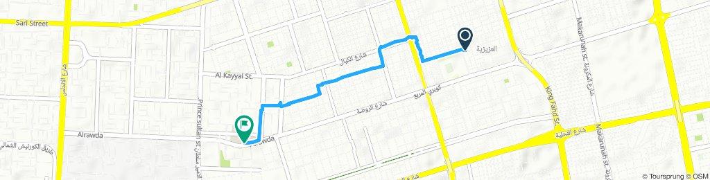 Steady ride in Jeddah
