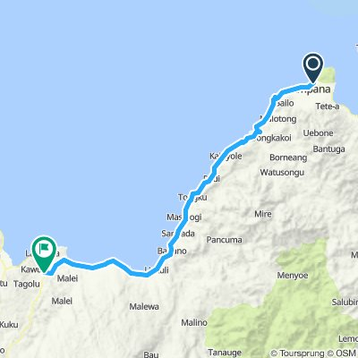 Sulawesi, Indonesia, 06, Ampana - Posso, 147 km