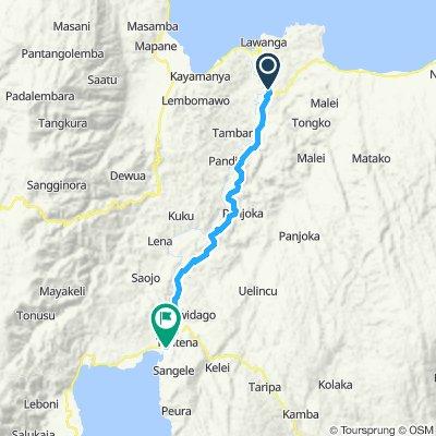 Sulawesi, Indonesia, 07, Poso - Tentena, 50 km
