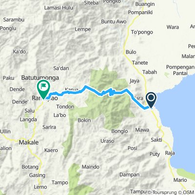 Sulawesi, Indonesia, 11, Palopo - Rantepao, 50 km