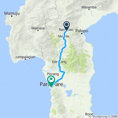 Sulawesi, Indonesia, 12, Rantepao - Pare Pare, 175 km