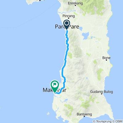 Sulawesi, Indonesia, 13, Pare Pare - Makassar (Ujung Pandang), 157 km
