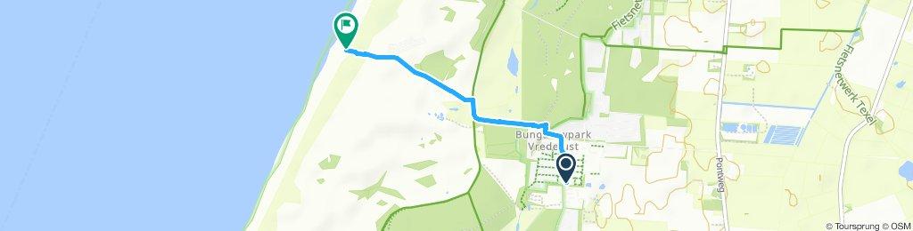Moderate Route in De Koog