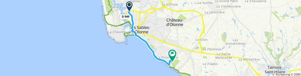 Itinéraire modéré en Château-d'Olonne