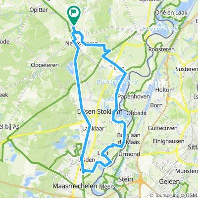 Vucht-Leut-Stokkem-Elen 42 km
