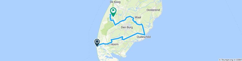 Entspannende Route in De Koog