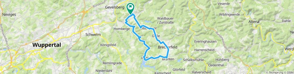 Schnelle Tour in Ennepetal