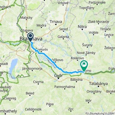 02 Bratislava Komarno 106 km