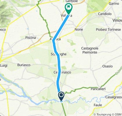 Volvera-Villafranca Piemonte,Fiume Pellice