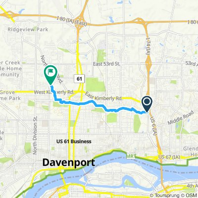 Cracking ride in Davenport