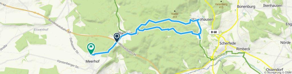 Moderate Route in Marsberg Hammerhof
