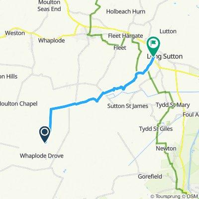 Restful route in Spalding