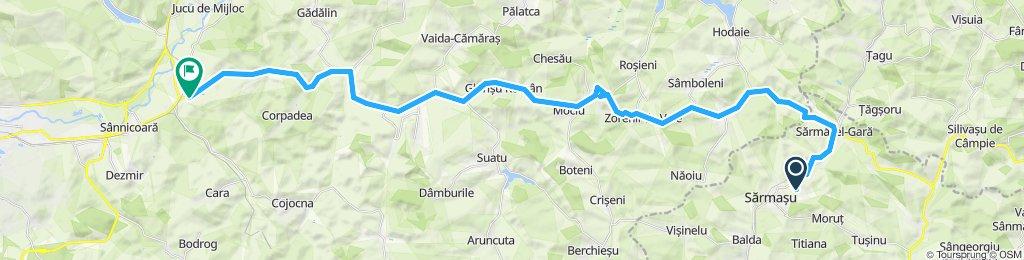 Sărmășel - Apahida
