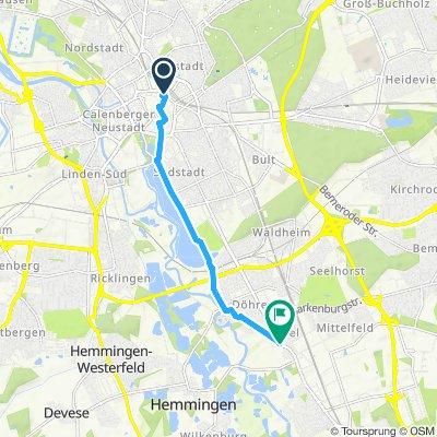 Hannover Hauptbahnhof Hildesheimerstr 380