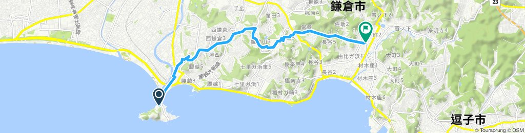 Easy ride in Kamakura