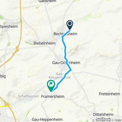 Paseo lento en Framersheim