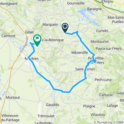 Itinéraire modéré en Molandier