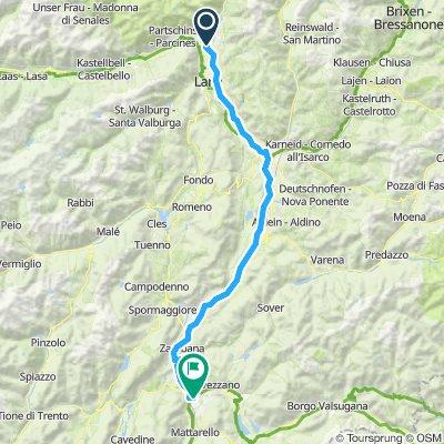 Ehrwald-Gardasee Etappe 4