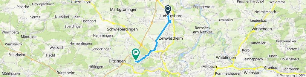 Slow ride in Korntal-Munchingen
