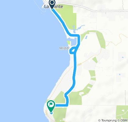 Moderate route with Ellie in La Pointe