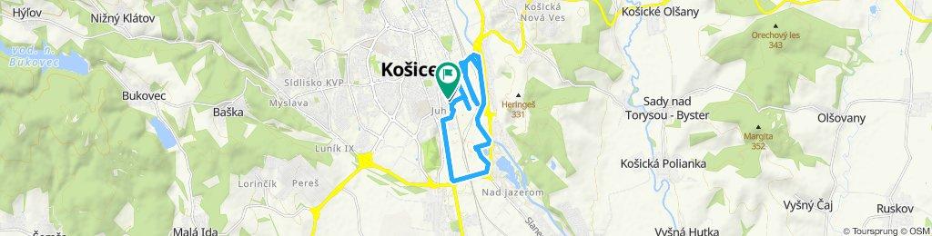 Snehová cesta vo Košice
