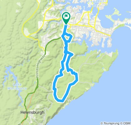 Ride 1 Sutherland Return via Lady Carrington