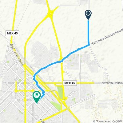 Paseo lento en Delicias