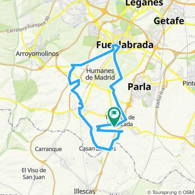 Ruta relajada en Torrejón de la Calzada