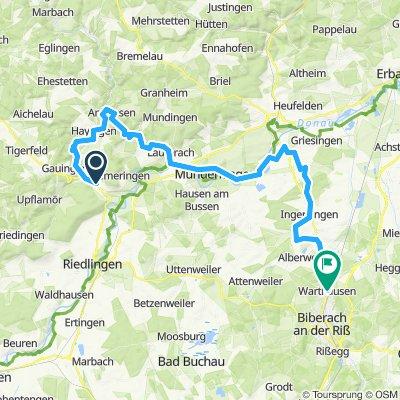 Pauls 60er Höhlentour (Heimfahrt)