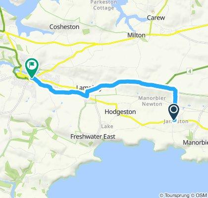 Slow ride in Pembroke
