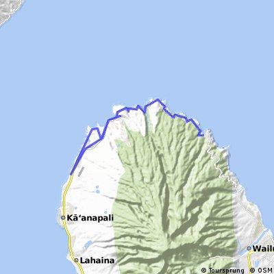 Maui, North side to banana bread city