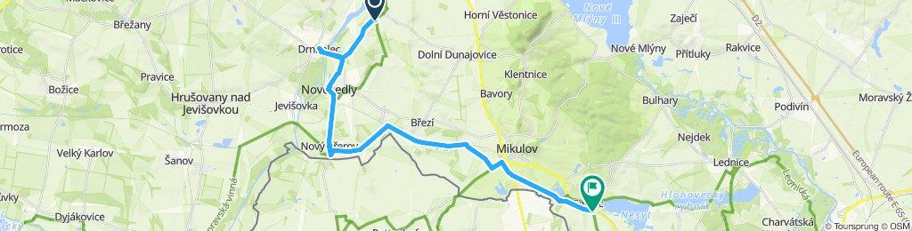 Uvoľnená trasa Valticei