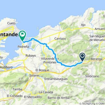 Easy ride in Marina de Cudeyo