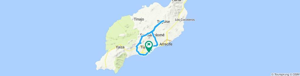 Puerto del Carmen - Teguise und zurück