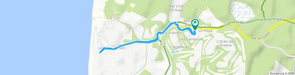 Itinéraire modéré en Lacanaui