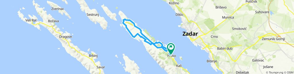 Supersonic route Preko - Muline