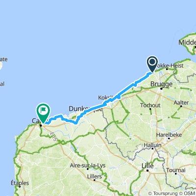 fietsen Normandie 1
