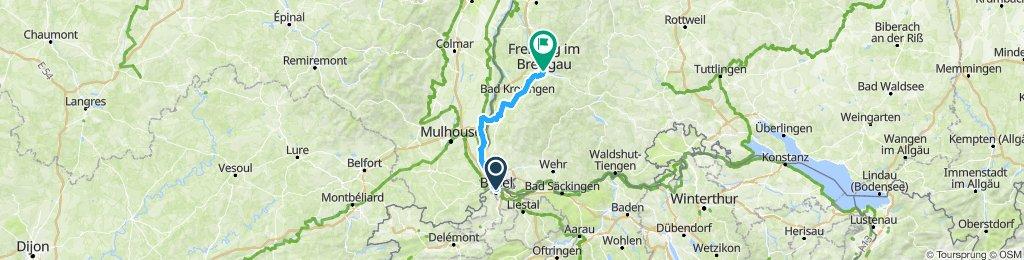 basel to freiburg