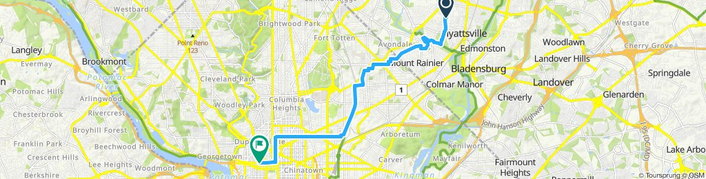 hyattsville to farragut north
