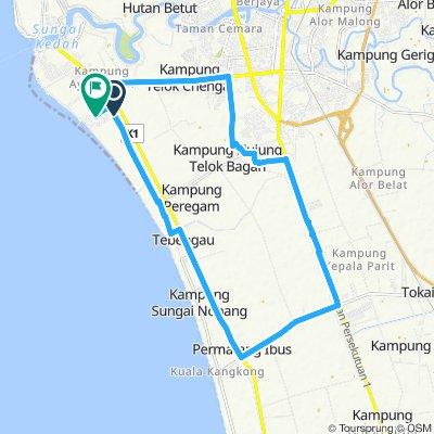 Slow ride in Bandar Kuala Kedah