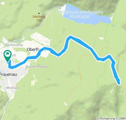Gemütliche Route in Frauenau